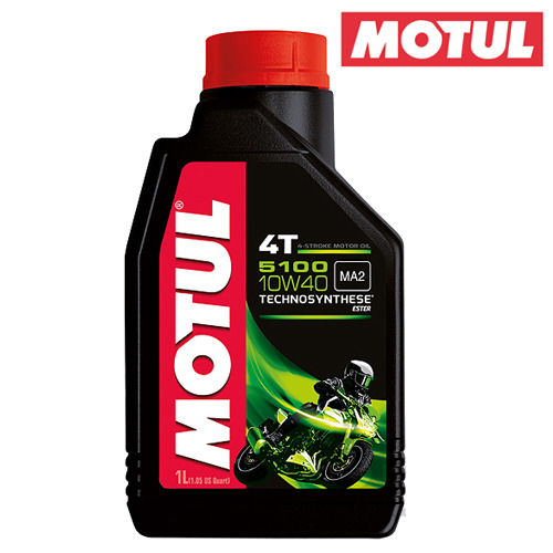MOTULLUBRICANTS4T TECHNOESTERSYTHETIC- 5100 -1개당가격!!모툴오일입점!!