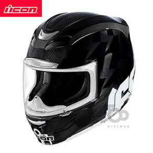 ICONAIRMADASTACK- black -아이콘헬멧입점!!!ICON HELMETS !!