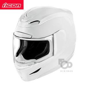 ICONAIRMADASOLID- white -아이콘헬멧입점!!!ICON HELMETS !!
