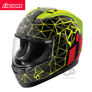 ICONALLIANCECRYSMATIC- HI VIZ -아이콘헬멧입점!!!ICON HELMETS !!