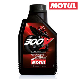 MOTULLUBRICANTS4T 100%ESTERSYTHETIC- 300V -1개당가격!!모툴오일입점!!
