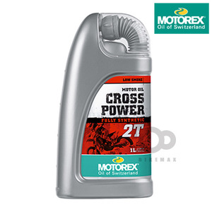 MOTOREXLUBRICANTS 2T 100%CROSS POWER   모토렉스입점!!
