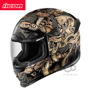 ICON   AIRFRAME PRO   COTTONMOUTH   - gold/black -  아이콘헬멧입점!!!ICON HELMETS !!
