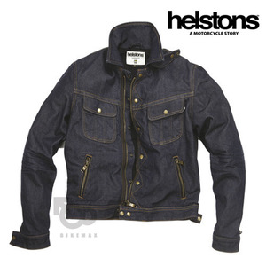 HELSTONSCANNONBALL DENIM- raw blue -헬스톤자켓입점!!